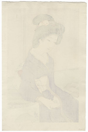 January: Playing Cards, 1924 by Ikeda Terukata (1883 - 1921)