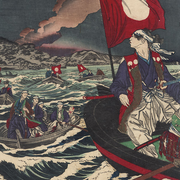 The Fifteenth of the Line: Lord Tokugawa Yoshinobu by Yoshitoshi (1839 - 1892)
