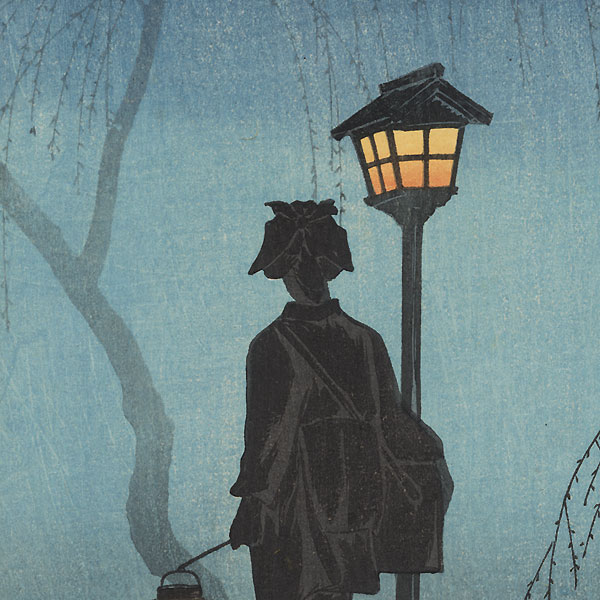 Spring Night, circa 1936 by Shotei (1871 - 1945)