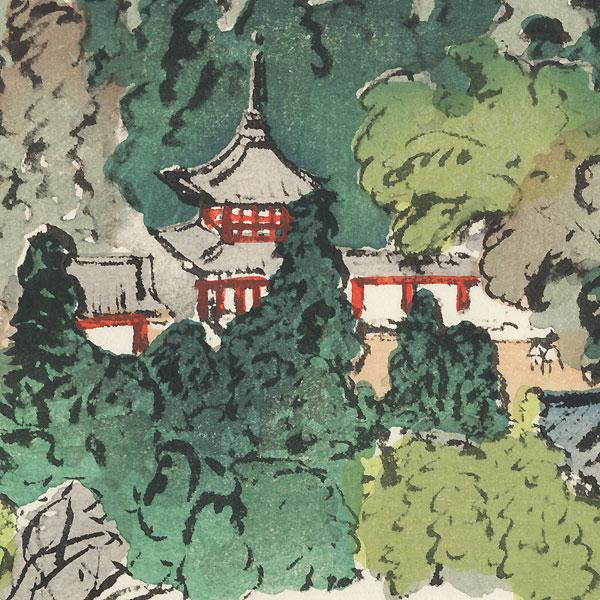 Minamihokkeji (Tsubosakadera), Temple 6 by Hiromitsu Nakazawa (1874 - 1964)