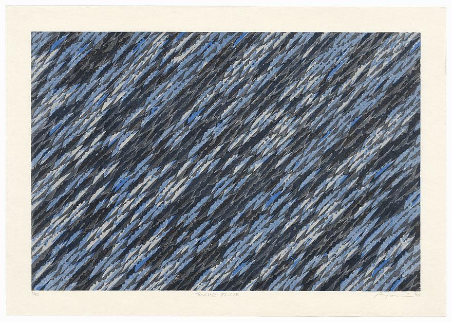 Touches 2J - CSB, 1987 by Ayomi Yoshida (born 1958)
