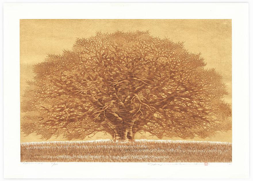 Treescene 106, 2001 by Hajime Namiki (born 1947)