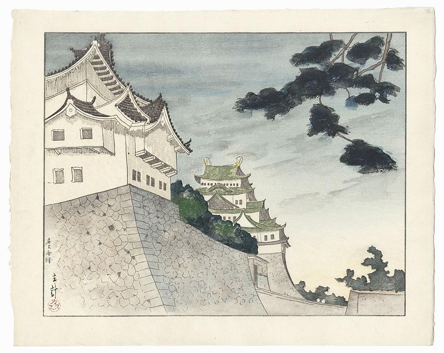 Nagoya Castle by Yamagishi Kazue (1833 - 1966)
