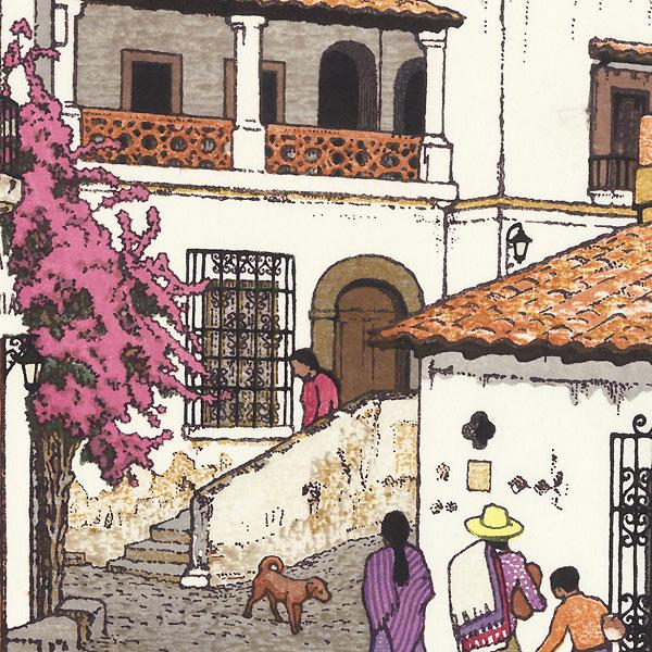 Taxco, Mexico, 1975 by Toshi Yoshida (1911 - 1995)