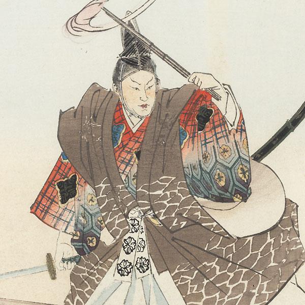 Youchi Soga by Tsukioka Kogyo (1869 - 1927)