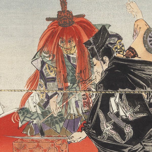 Kokaji by Tsukioka Kogyo (1869 - 1927)