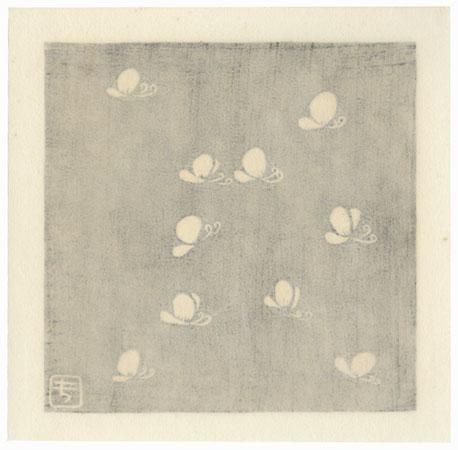 Butterflies by Kikuo Gosho (born 1943)