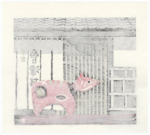 Offered in the Fuji Arts Clearance - only $24.99! by Takao Sano (born 1941)