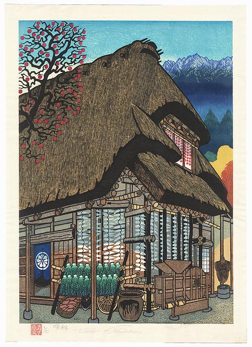 Late Autumn by Tohoru Shimizu (born 1938)