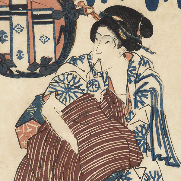 Beauty Returning from the Bath by Edo era artist (not read)