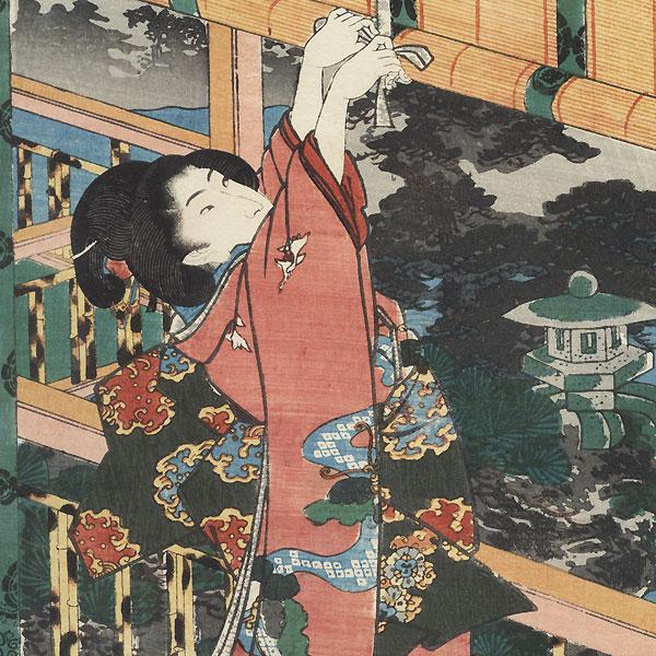 Moon, 1847 - 1852 by Toyokuni III/Kunisada (1786 - 1864)