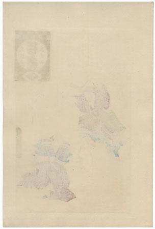 Saruwaka Play (Saruwaka kyogen) by Torii Kiyosada (1844 - 1901)