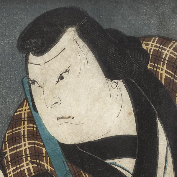 Two Commoners by Yoshitaki (1841 - 1899)