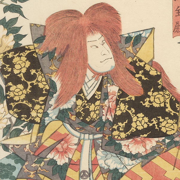 Scene from Imayo Mochizuki, 1848 by Toyokuni III/Kunisada (1786 - 1864)