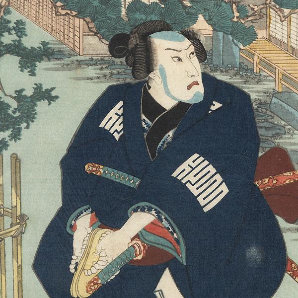 Azumaya, Chapter 50: Ashigaru Kichiemon by Kuniyoshi (1797 - 1861)