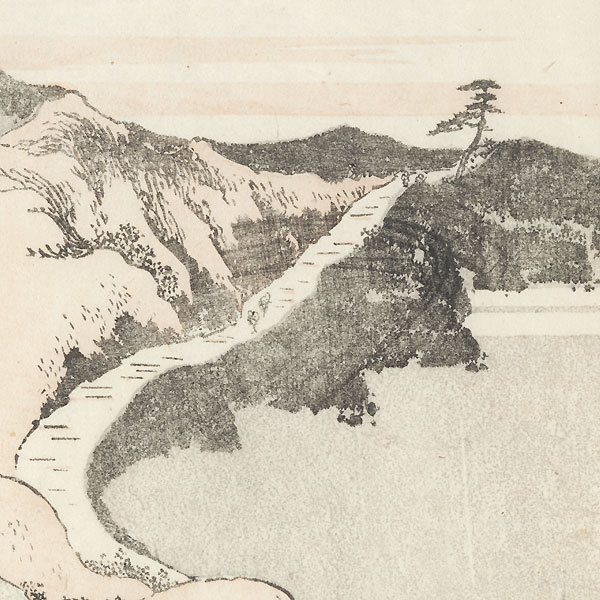 Shirasuka and Futugawa by Hokusai (1760 - 1849)