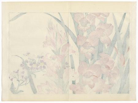 Schizanthus and Gladiolus by Tanigami Konan (1879 - 1928)