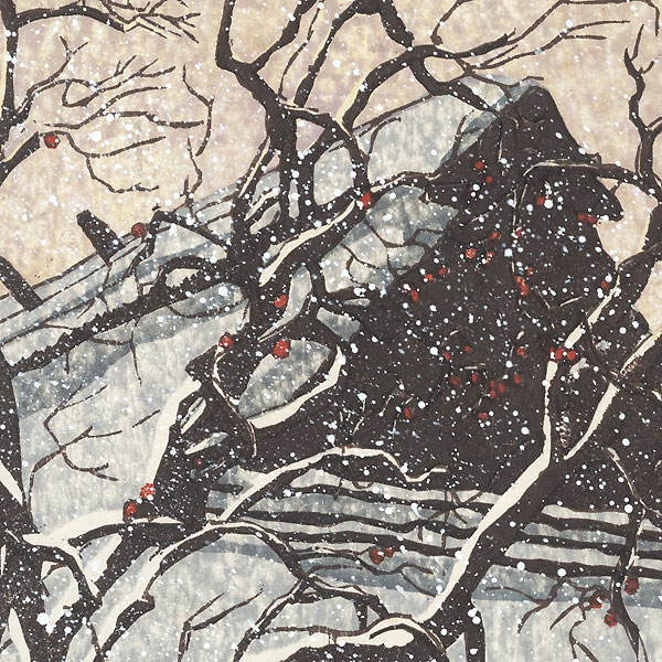 Snowy Morning, 1987 by Joshua Rome (born 1953)