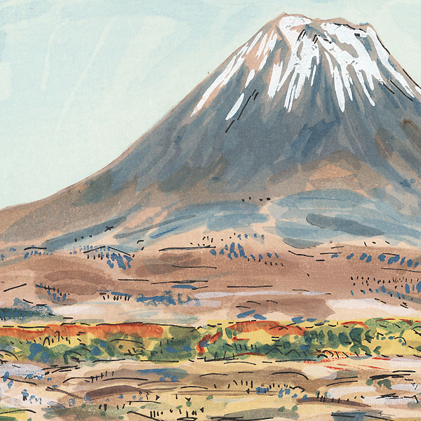The Foot of Mount Fuji by Kobayashi Wasaku (1888 - 1974)