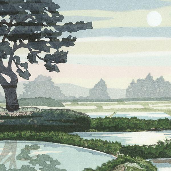 Morning Mist at Kisakata, 2001 by Masao Ido (1945 - 2016)