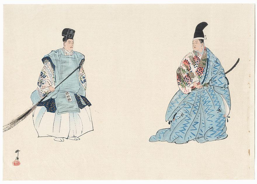 Daibutsu Kuyo (The Great Buddha Dedication Ceremony) by Tsukioka Kogyo (1869 - 1927)
