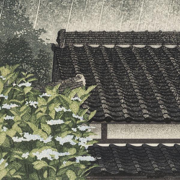 Rainy Day by Shufu Miyamoto (born 1950)