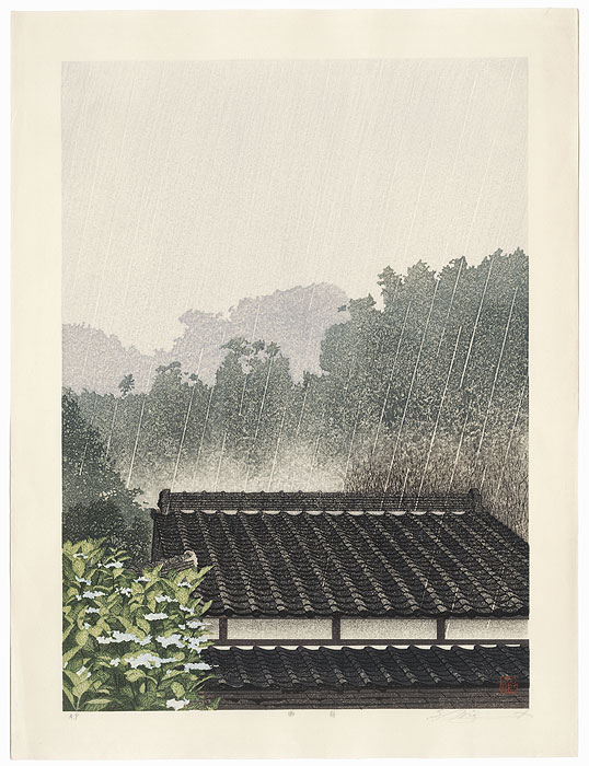 Rainy Day by Shufu Miyamoto (born 1950)