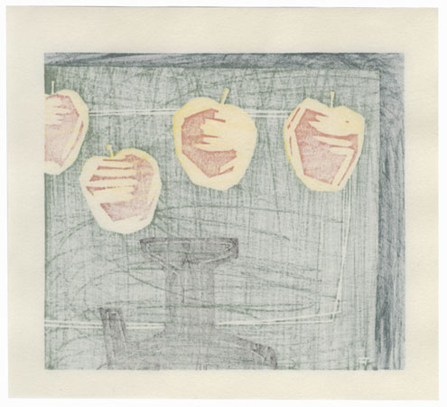 Apples and Pitcher, 1976 by Contemporary artist (not read)