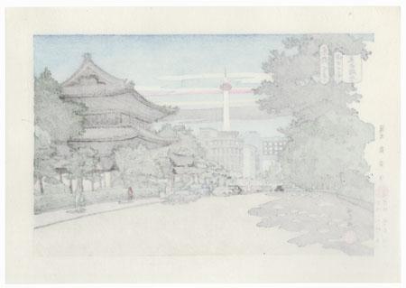 Higashi-Honganji Temple by Masao Ido (1945 - 2016)