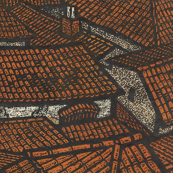 Roofs by Takeda Takeo (1913 - ?)