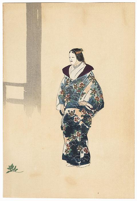 Tomonaga by Tsukioka Kogyo (1869 - 1927)