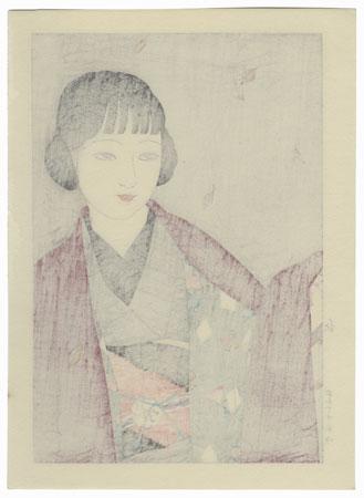 Autumn, 1927 by Yamakawa Shuho (1898 - 1944)