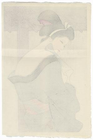 After a Bath, 1981 by Iwata Sentaro (1901 - 1974)