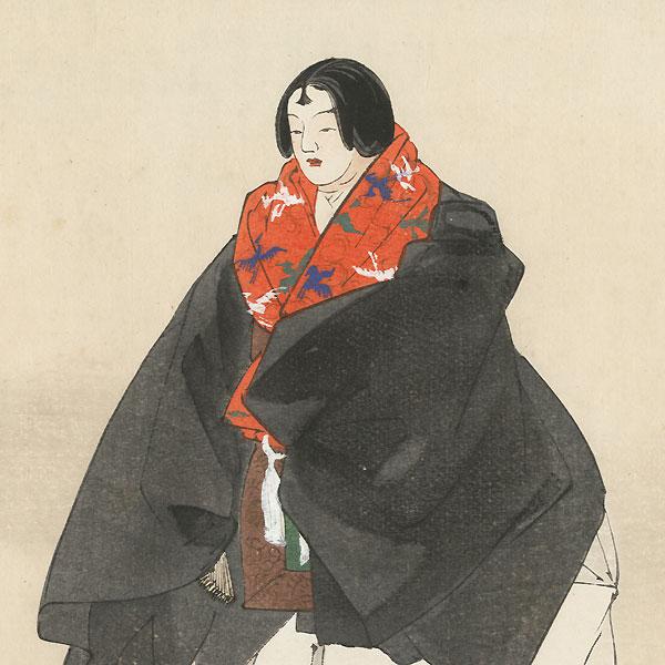 Jinen koji (Jinen the Preacher) by Sofu Matsuno (1899 - 1963)