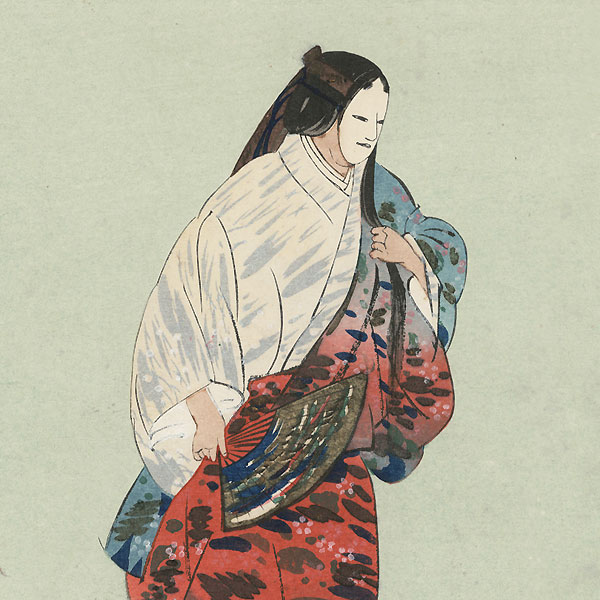 Tamakazura (The Jeweled Chaplet) by Tsukioka Kogyo (1869 - 1927)