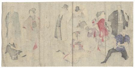 Beauties and Men by Meiji era artist (not read)