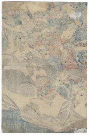 The Seven Lucky Gods by Toyokuni III/Kunisada (1786 - 1864)