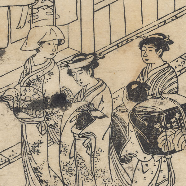 Beauties Strolling and Festival Floats by Bairyu