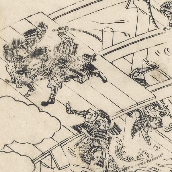 Battle on a Bridge by Arimori