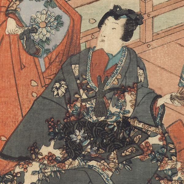 Hana no en, Chapter 8, 1852 by Toyokuni III/Kunisada (1786 - 1864)