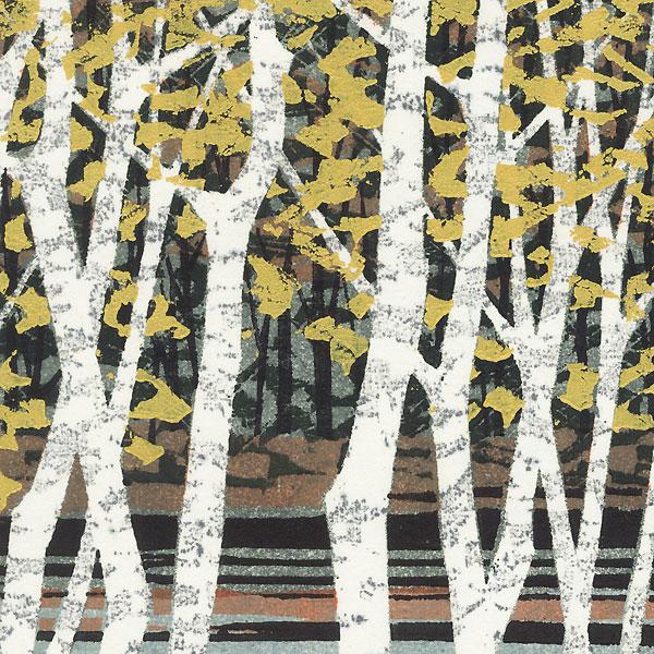 Autumn Color B by Fumio Fujita (born 1933)