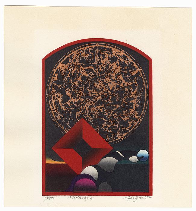 Mythology, 1972 by Kurosaki Akira (born 1937)