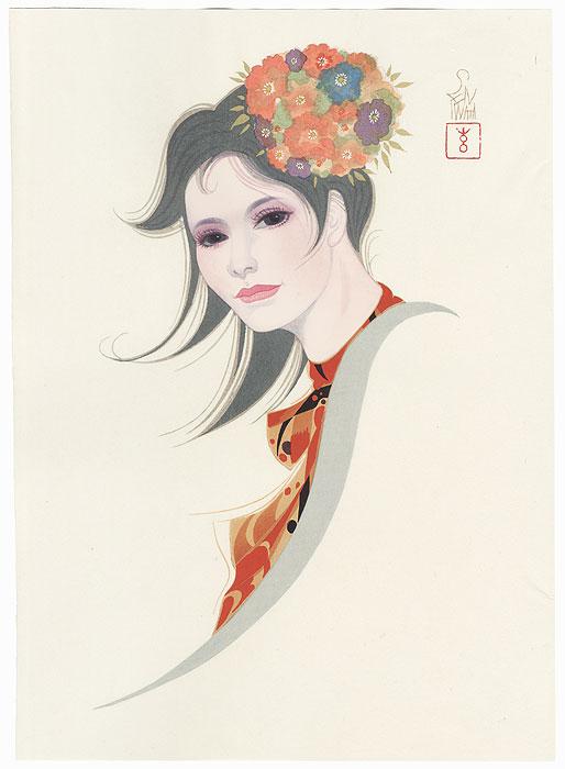Mild Spring by Iwata Sentaro (1901 - 1974)