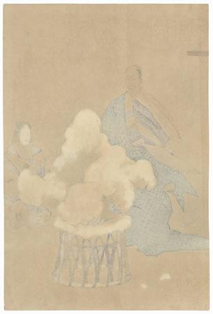 Hachinoki by Tsukioka Kogyo (1869 - 1927)