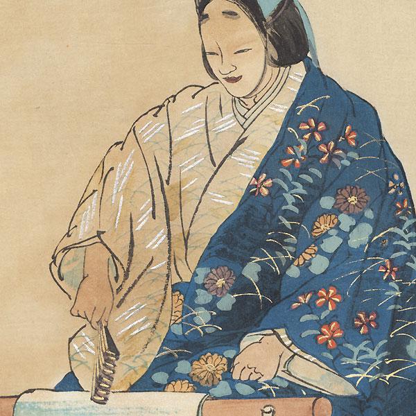 Kinuta by Tsukioka Kogyo (1869 - 1927)