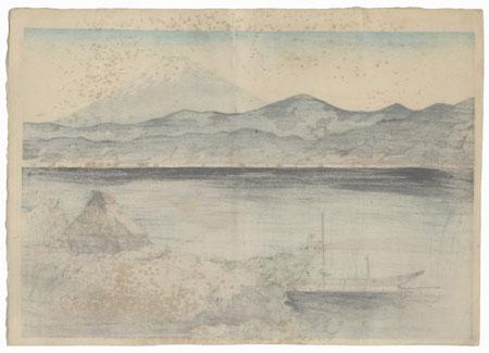 Lake Shore in the Morning by Maeda Masao (1904 - 1974)