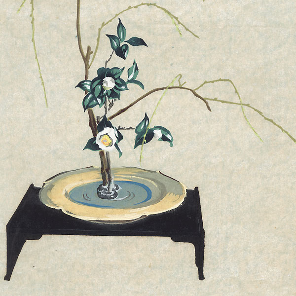 Flower Arrangement by Shin-hanga & Modern artist (unsigned)