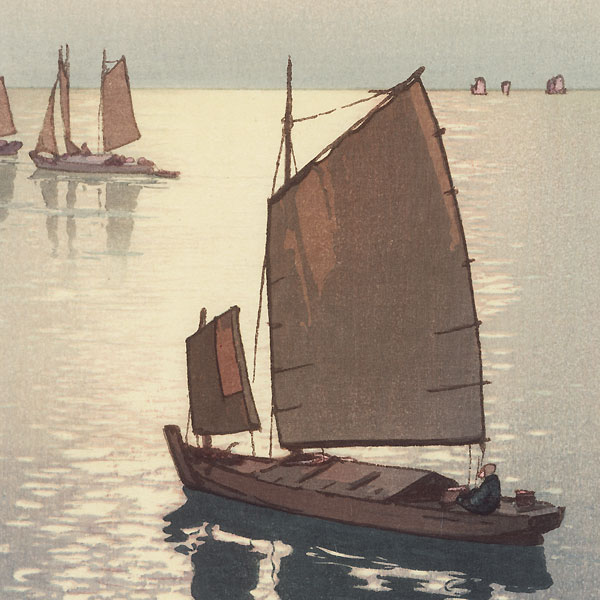 Calm Wind, 1937 by Hiroshi Yoshida (1876 - 1950)