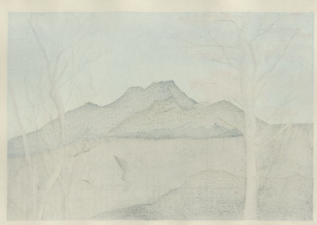 Mt. Ishizuchi, Shikoku by Ippei Kusaki (Born 1937)