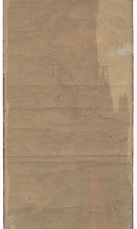 Courtesan Kakemono by Toyokuni III/Kunisada (1786 - 1864)